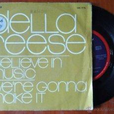 Discos de vinilo: DELLA REESE, I BELIEVE IN MUSIC (COLUMBIA 1971) SINGLE ESPAÑA - JIMMIE HASKELL. Lote 48717822