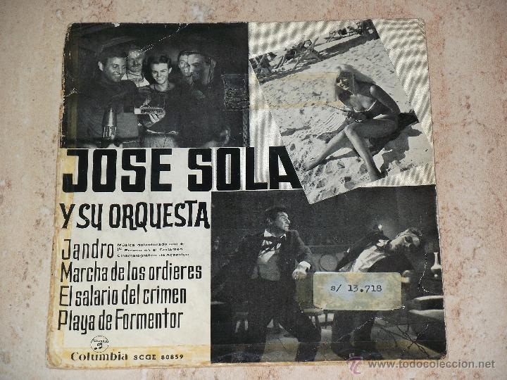 Jose sola*rare spain ost ep '64*latin jazz groo - Sold