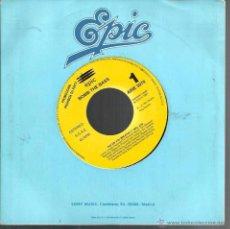 Discos de vinilo: SG BOMB THE BASS : THE AIR YOU BREATHE ( MIX) PROMO - ELECTRONIC DANCE. Lote 48725576