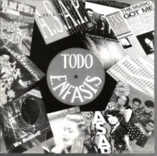 Discos de vinilo: SG TODO ENFASIS - MEGAMIX ( ASAP + DML + DAVE & WOODY + BASS BUMPERS ) PROMO PARA EMISORAS . Lote 48725628