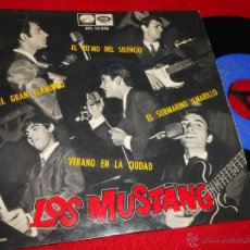 Discos de vinilo: LOS MUSTANG EL RITMO DEL SILENCIO / SUBMARINO AMARILLO ..+2 7 EP 1966 LA VOZ DE SU AMO BEATLES. Lote 67305495