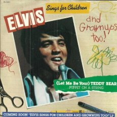 Discos de vinilo: ELVIS PRESLEY SINGLE SELLO RCA EDITADO EN USA.. Lote 48729672