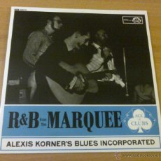 Discos de vinilo: ALEXIS KORNER'S BLUES INCORPORATED – R & B FROM THE MARQUEE (LP 1962 SWEET DANDELION-SWDDL720). Lote 156823380