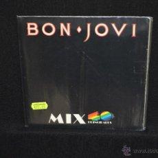 Discos de vinilo: BON JOVI - RUNAWAY +3 - SINGLE POMO 40 PRINCIPALES. Lote 48733763