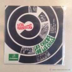 Discos de vinilo: EP LOS BRAVOS - AL PONERSE EL SOL + 3 1967 . Lote 48735272