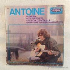 Discos de vinilo: EP ANTOINE - ESPAÑA 1965. Lote 48735490
