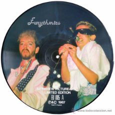 Discos de vinilo: EURYTHMICS – LIMITED EDITION INTERVIEW PICTURE DISC - UK 1987 UNOFFICIAL - TELL TALES EU 1015. Lote 48737856