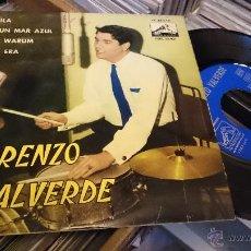 Discos de vinilo: LORENZO VALVERDE SHEILA EP DISCO DE VINILO 7EPL 13921 . Lote 48739100