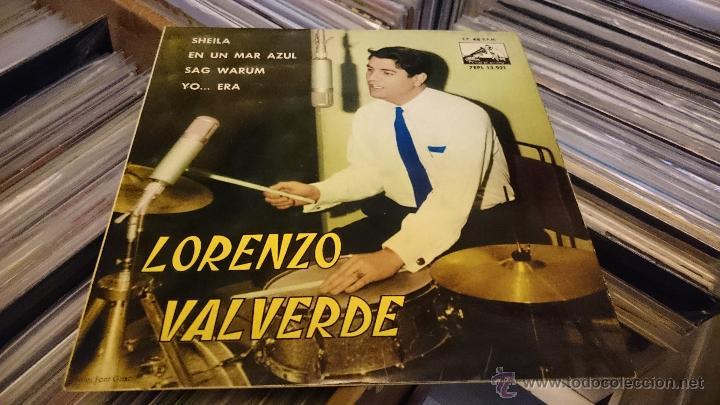Discos de vinilo: Lorenzo valverde Sheila Ep disco de vinilo 7EPL 13921 - Foto 2 - 48739100