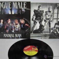 Discos de vinilo: ROGUE MALE - ANIMAL MAN - MUSIC FOR NATIONS 1986 UK - LP - LETRAS . Lote 48739675