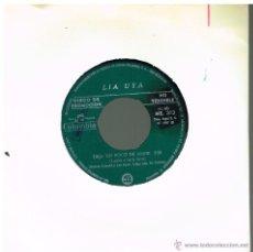 Discos de vinilo: LIA UYA - DEJA UN POCO DE AMOR / DEDICADO AL AMOR - SINGLE 1967 PROMO. Lote 48756569