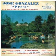 Discos de vinilo: JOSÉ GONZÁLEZ PRESI - DIME XILGUERIN PARLERU / VOY PA COVADONGA / AQUEL CARRETERU, ETC - EP 1963. Lote 169983545