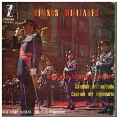 Dischi in vinile: GRAN BANDA MILITAR - HIMNO DE LA ACADEMIA DE INFANTERÍA / CANCIÓN DEL LEGIONARIO + 2 - EP 1962. Lote 48757711