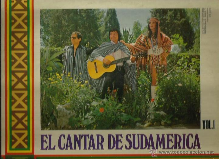 LOS TRES SUDAMERICANOS LP SELLO BELTER AÑO 1974 (Música - Discos - LP Vinilo - Grupos Españoles 50 y 60)