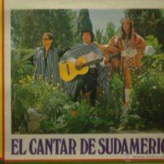 Discos de vinilo: LOS TRES SUDAMERICANOS LP SELLO BELTER AÑO 1974. Lote 48757996
