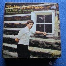 Discos de vinilo: BOBBY GOLDSBORO / EL OTOÑO DE MI VIDA / PROMESA DE AMOR (SINGLE 1968). Lote 48758452