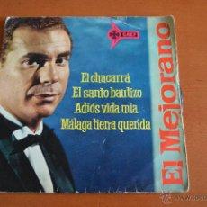 Discos de vinilo: VINILO ** EL MEJORANO ** 1962 ** 4 CANCIONES. Lote 48759629