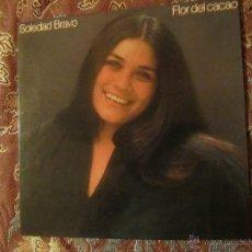 Discos de vinilo: SOLEDAD BRAVO LP DE VINILO- TITULO FLOR DE CACAO- 11 TEMAS- ORIGINAL DEL 79- NUEVO A ESTRENAR. Lote 48760095