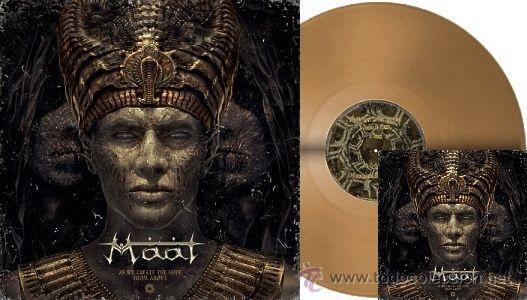 MAAT AS WE CREA TE THE HOPE FROM ABOVE GOLD LP LIMIT 100 VINILO DORADO ..NILE BEHEMOTH (Música - Discos de Vinilo - EPs - Heavy - Metal)