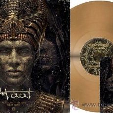 Discos de vinilo: MAAT AS WE CREA TE THE HOPE FROM ABOVE GOLD LP LIMIT 100 VINILO DORADO ..NILE BEHEMOTH . Lote 48765449