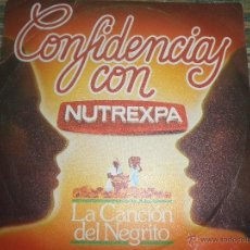 Discos de vinilo: CONFIDENCIAS CON NUTREXPA - COLA CAO EP - ORIGINAL ESPAÑOL - PROMOCIONAL - COLA CAO 1982 STEREO -. Lote 48765829