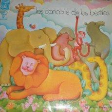Discos de vinilo: LES CANCONS DE LES BESTIES EP - ORIGINAL ESPAÑOL - CONCENTRIC CAVALL FORT 1970 - MONOAURAL -. Lote 48766065