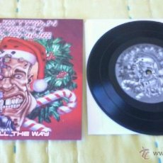 Discos de vinilo: AUSTRIAN DEATH MACHINE VINYL JINGLE ALL THE WAY..TIM LAMBESIS AS I LAY DYING . Lote 48768751