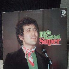 Discos de vinilo: LUCIO BATTISTI-SUPER.EDITADO ALEMANIA. Lote 48769614