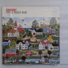 Disques de vinyle: CRACKOUT - THIS IS REALLY NEAT LP 2001 NUEVO INDIE ROCK. Lote 48772582