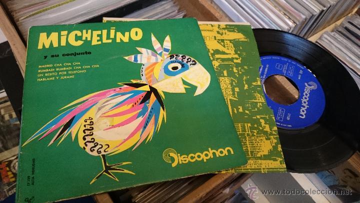 MICHELINO Y SU CONJUNTO MADRID CHA CHA CHA EP DISCO DE VINILO DISCOPHON (Música - Discos de Vinilo - EPs - Grupos y Solistas de latinoamérica)