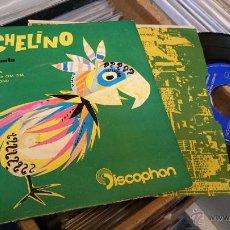 Discos de vinilo: MICHELINO Y SU CONJUNTO MADRID CHA CHA CHA EP DISCO DE VINILO DISCOPHON . Lote 48774999