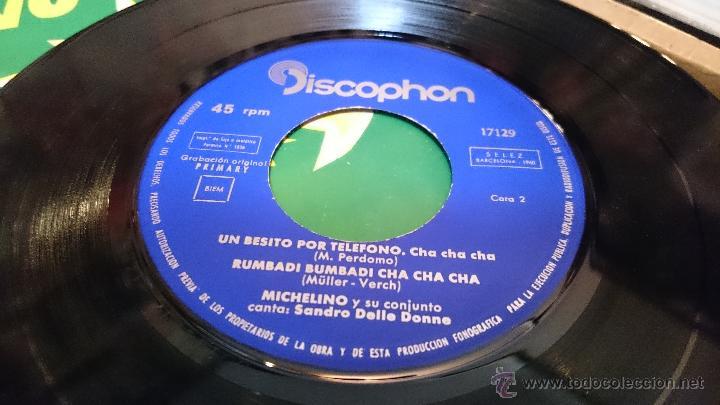Discos de vinilo: Michelino y su conjunto Madrid Cha cha cha Ep disco de vinilo Discophon - Foto 5 - 48774999