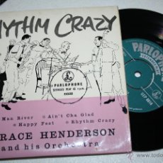 Vinyl records - HORACE HENDERSON and his Orch. - Rhythm Crazy (old man river, happy feet...) PARLOPHONE - 48775446