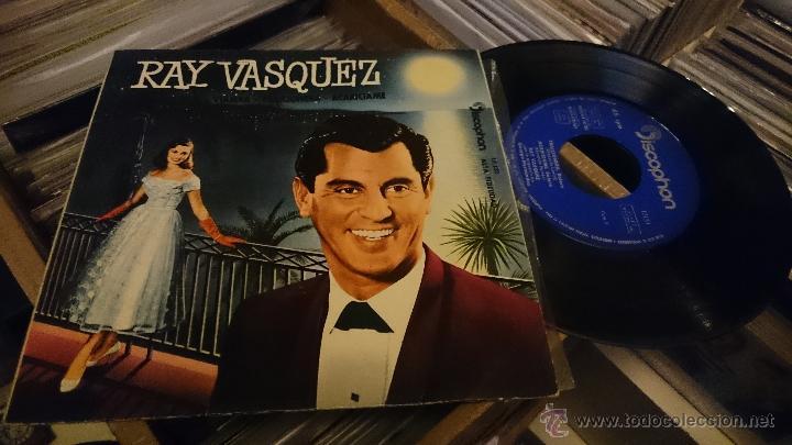 RAY VASQUEZ MARIA DOLORES VIAJERA EP DISCO DE VINILO DISCOPHON (Música - Discos de Vinilo - EPs - Grupos y Solistas de latinoamérica)