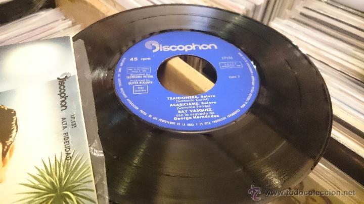 Discos de vinilo: Ray vasquez Maria dolores viajera Ep Disco de vinilo Discophon - Foto 3 - 48778025