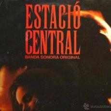 Discos de vinilo: LP BANDA SONORA ESTACIO CENTRAL - MUSICA ELECTRONICA DE JORDI NOGUERAS. Lote 48778795