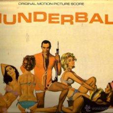 Discos de vinilo: LP BANDA SONORA THUNDERBALL ( 007 JAMES BOND ) OPERACION TRUENO . Lote 48779306