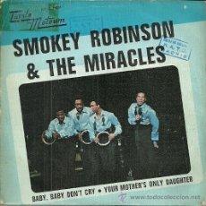 Discos de vinilo: SMOKEY ROBINSON & THE MIRACLES SINGLE SELLO TAMLAMOTOWN AÑO 1969 EDITADO EN ESPAÑA. Lote 48783780