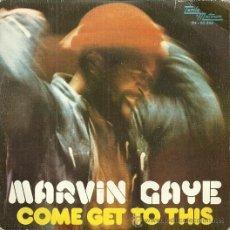 Discos de vinilo: MARVIN GAYE SINGLE SELLO TAMLAMOTOWON AÑO 1974 EDITADO EN ESPAÑA. Lote 48783915