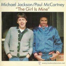 Discos de vinilo: MICHAEL JACKSON Y PAUL MCCARTNEY SINGLE SELLO EPIC AÑO 1982 EDITADO EN ESPAÑA PROMO SOLO UNA CARA. Lote 48784087