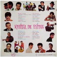 Discos de vinilo: MUSTANG, SHADOWS, GELU... - RECITAL DE EXITOS #1 - LP SPAIN 1963 - LA VOZ DE SU AMO LCLP 213. Lote 48786228