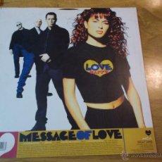 Discos de vinilo: MESSAGE OF LOVE LOVE HAPPY. Lote 48810133