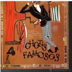 Discos de vinilo: JOSE LUIS NAVARRO - CUANTRO CHOTIS FAMOSOS - EP 1959. Lote 48811505