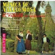 Discos de vinilo: AGRUPACION EL PARADO DE VALLDEMOSA - MÚSICA DE VALLDEMOSA - EP 1963. Lote 48811949