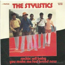 Discos de vinilo: THE STYLISTICS SINGLE SELLO AVCO AÑO 1974. Lote 48812117