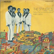 Discos de vinilo: THE STYLISTICS SINGLE SELLO AVCO AÑO 1975. Lote 48812155