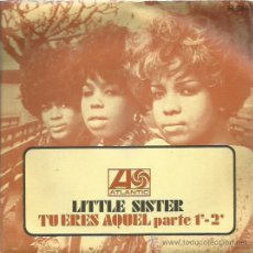 Discos de vinilo: LITTELE SISTER SINGLE SELLO ATLANTIC AÑO 1979. Lote 48812300