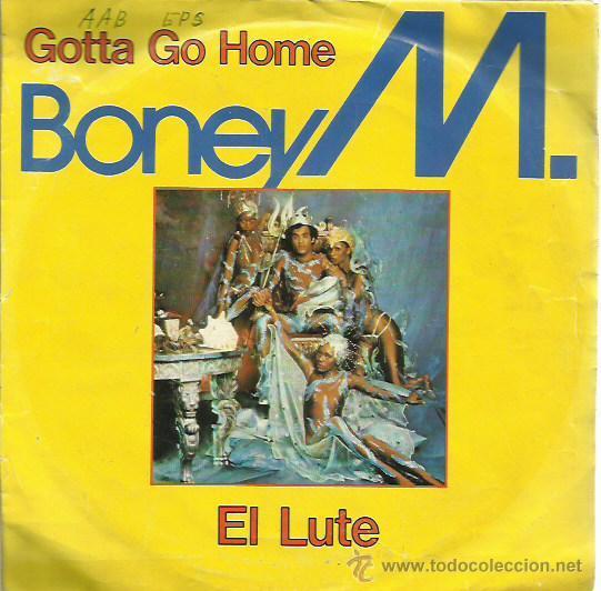 BONEY M SINGLE SELLO ARIOLA AÑO 1979 (Música - Discos - Singles Vinilo - Funk, Soul y Black Music)