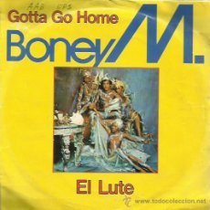 Discos de vinilo: BONEY M SINGLE SELLO ARIOLA AÑO 1979. Lote 48812338