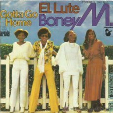 Discos de vinilo: BONEY M SINGLE SELLO ARIOLA AÑO 1979. Lote 48813697